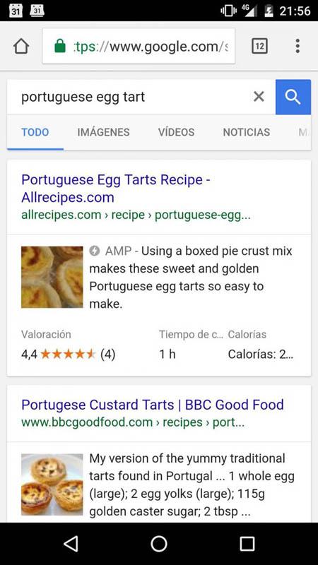Применение технологии AMP на сайтах с рецептами