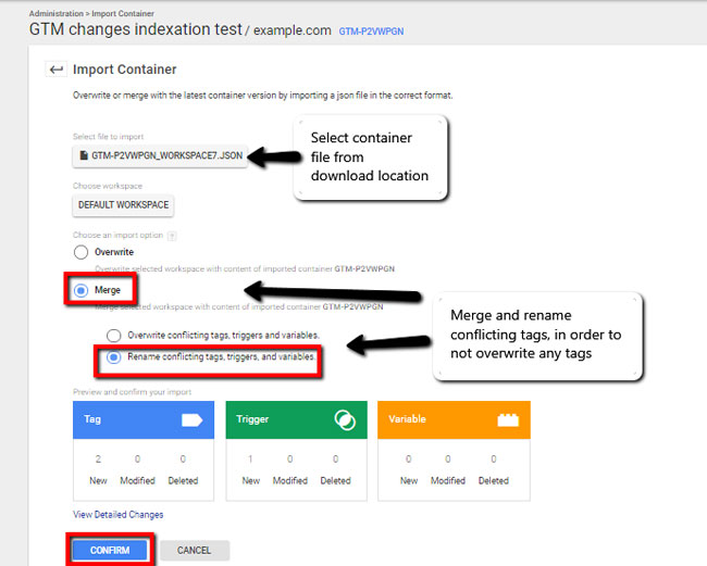 google tag manager seo
